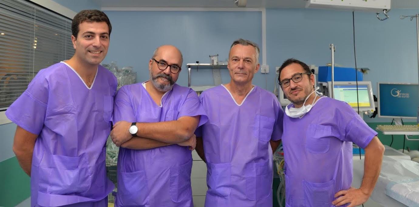 L'équipe d'urologie de l'Hôpital privé du Vert Galant